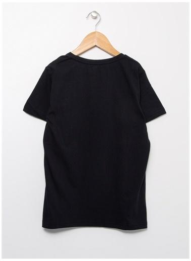 Lee Cooper Lee Cooper O Yaka Siyah T-Shirt Siyah